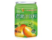 芒果树芒果汁饮料罐装