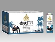 果泉泰式鲜榨椰子汁纸箱600ml×15瓶