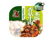 千石谷香菇牛肉米饭