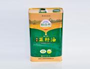 醇自然菜籽油四级3L铁罐装