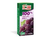汇源100%葡萄汁1L