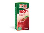 汇源100%苹果汁1L