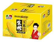 金保罗生榨玉米汁谷物饮料500g×15瓶