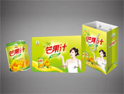 绿知园芒果汁饮料