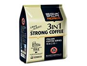 罗巴克特浓三合一速溶咖啡饮料
