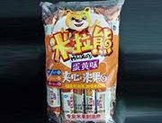 米拉熊�A心米果蛋�S味168g