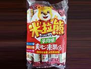 米拉熊�A心米果牛肉味168g