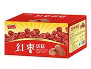开口福红枣蛋糕箱装