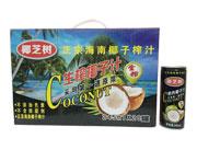 椰芝树生榨椰子汁245ml×20罐