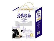 多米滋经典牧场低脂无糖型乳饮品手提袋