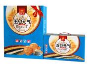 谷部一族立式双手提五谷元气饼干一箱两盒