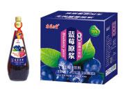 鑫益品堂生榨蓝莓汁饮料1.5L