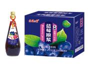 鑫益品堂生榨蓝莓汁饮料828ml