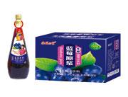 鑫益品堂生榨蓝莓汁饮料350ml