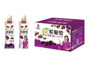 鑫益品堂原榨紫葡萄果汁500ml×15瓶