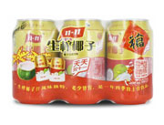 隐雪生榨椰子汁6瓶装