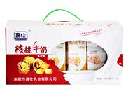 嘉仕核桃牛奶200mlx12盒