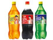 神立甜橙味汽水、可乐型汽水、柠檬味汽水(2L×6瓶)