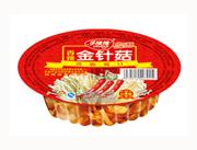 乐隆隆香辣金针菇罐头150g