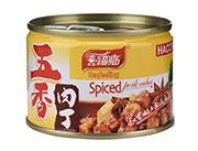喜福临牌五香肉丁罐头142g