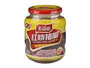喜福临牌红烧猪脚罐头390g