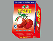 蜂蜜荔枝爽果味饮料标准箱240ml×20罐