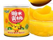 日盛糖水黄桃罐头312g