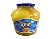 蒙康桃罐头1.25kg