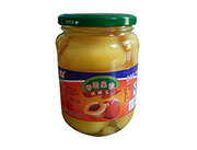 蒙康香浓果粒桃罐头770g