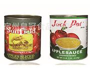 苹果沙司罐头