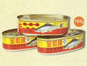 宝和牌豆豉鱼罐头