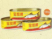 宝和牌橄榄菜鲮鱼罐头