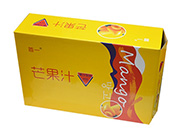 首一芒果汁箱装
