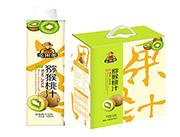 金果郎猕猴桃汁1000mlx6盒