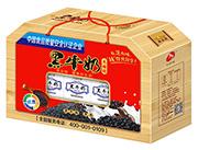 华宝黑牛奶饮品250mlx12盒