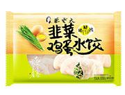 朱老大韭菜鸡蛋水饺450g