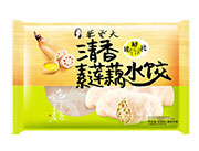 朱老大清香素莲藕水饺450g