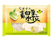 朱老大素白菜水饺450g