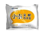 福润君小米杂粮(酸辣牛肉)方便面袋装