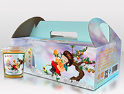 每赛仙227g装(8杯箱)黄桃罐头
