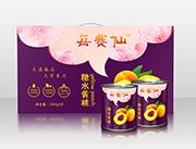 每赛仙300g装(8罐箱)黄桃罐头