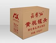 每赛仙820g实惠装-(24罐箱)黄桃罐头