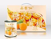 每赛仙820g装(6罐箱)黄桃罐头