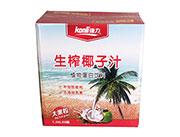 ��力生榨椰子汁1.25LX6箱�b