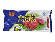亿嘉王中王大肉块优级火腿肠200g