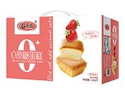 谷多滋0蔗糖蛋糕草莓味1.6kg礼盒