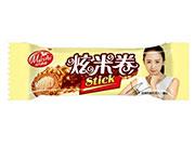 马氏11克炫米卷大米膨化巧克力(白巧)
