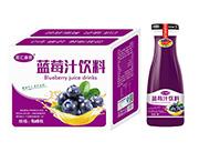 百汇康君蓝莓汁饮料1L