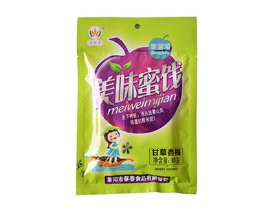 蔡春牌美味蜜饯甘草杏梅68g