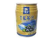椰栗野生蓝莓汁245ml瓶
